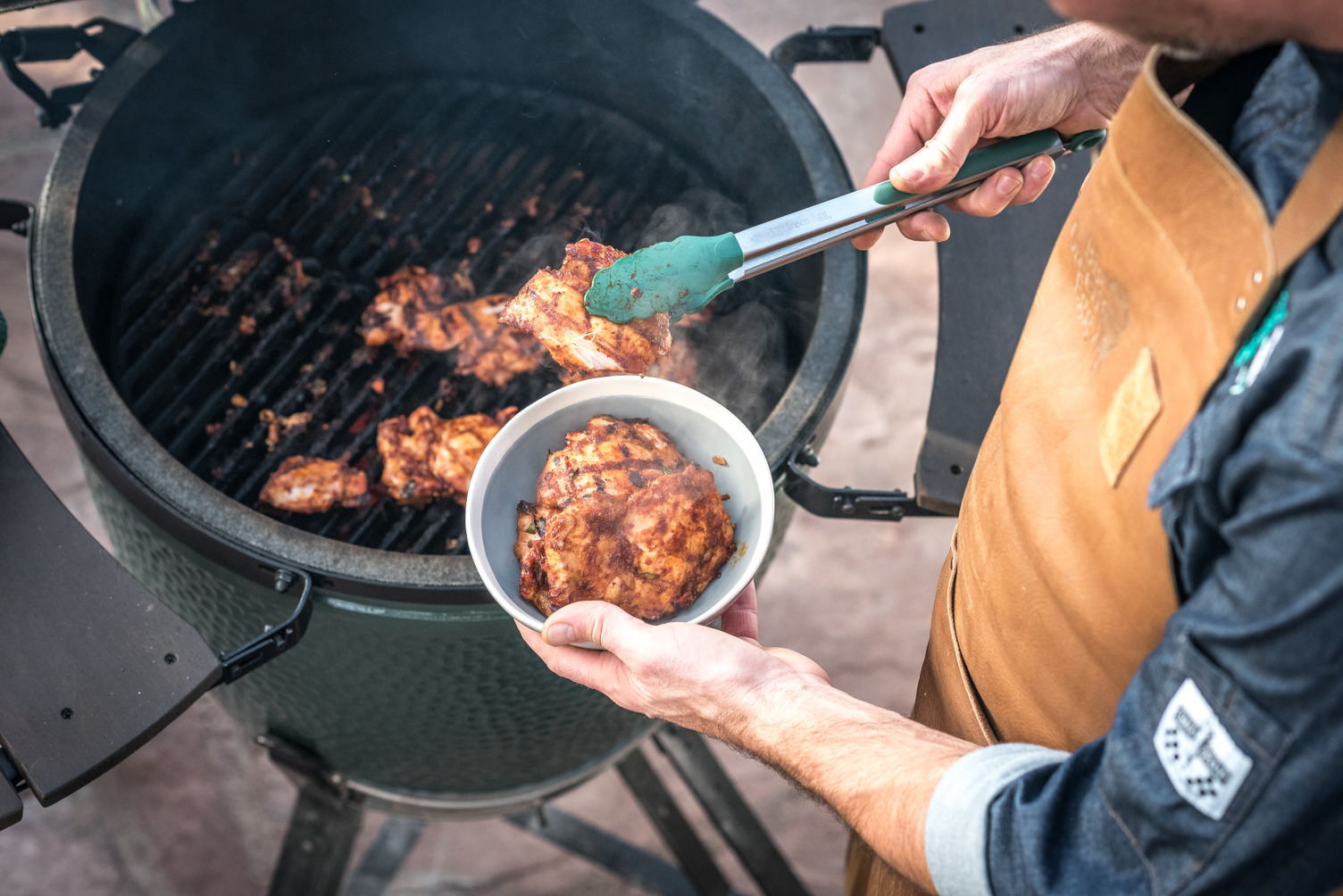 Healthy eating is easy with a Big Green Egg or Traeger Grill