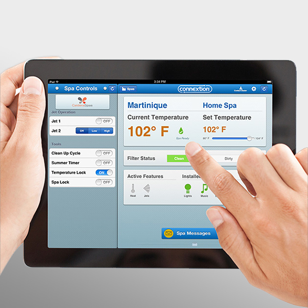 Caldera® Spas Connextion™ Remote Monitoring System Product Image