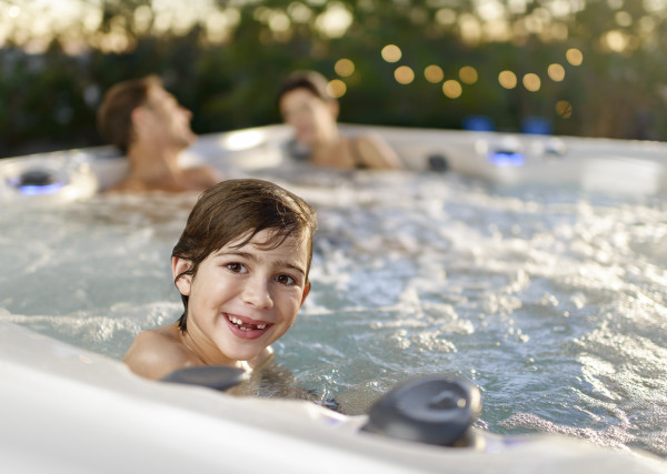 Feel younger in a Caldera Hot Tub