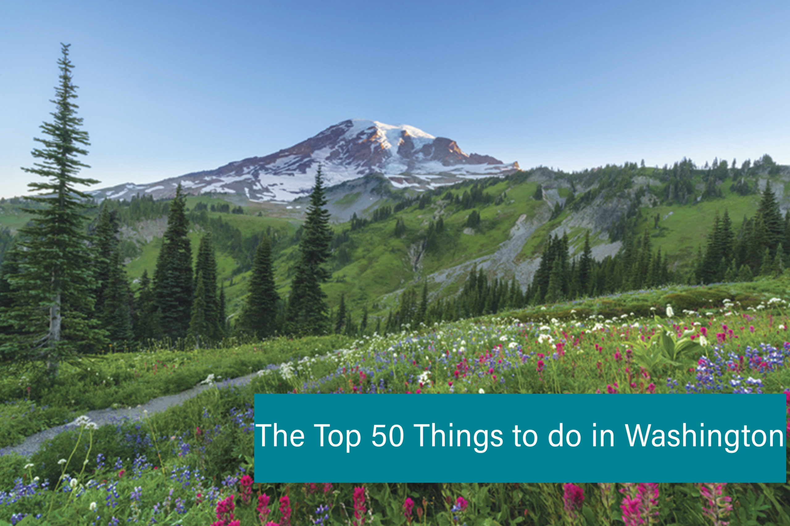 The top 50 things to do in Washington State