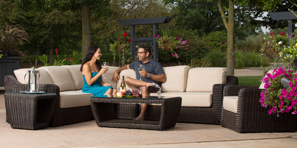 Barossa Collection Outdoor Patio Furniture Family Image