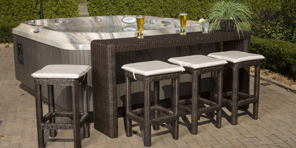 Spa Bar Sets - available exclusively at Spring Dance Hot Tubs