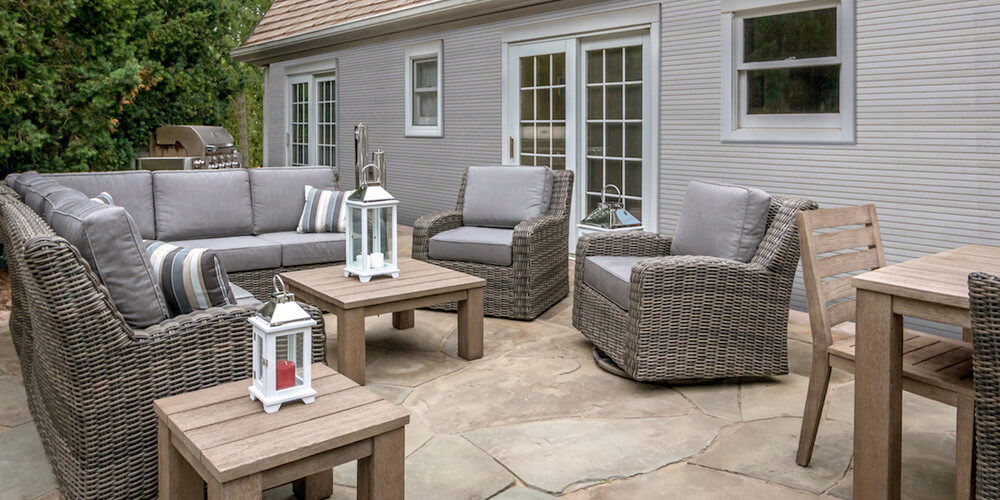 Napa Collection Outdoor Patio Furniture Family Image