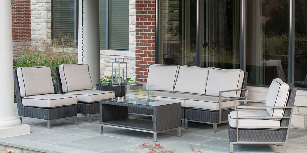 Savoy Collection Outdoor Patio Furniture Family Image
