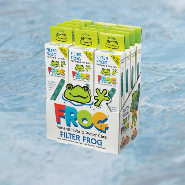 Spa Filter Frog 174 Mineral Sanitizer 12pk Spring Dance Hot