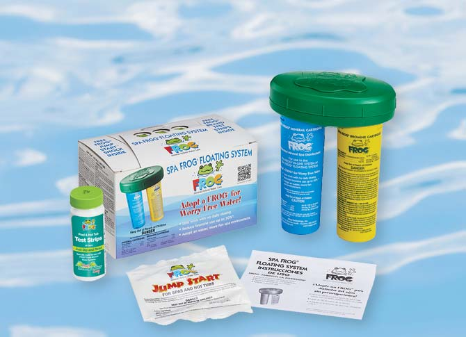 Frog® Water Care Family Image