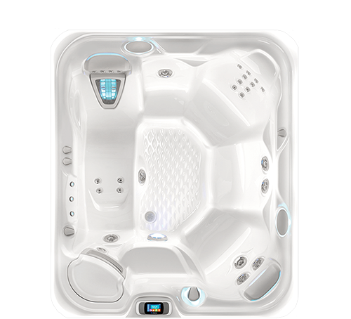 500x450 top view hotspring sovereign sovereign in the highlife series of hot tubs by hot spring