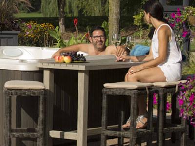 Hot Tub Bar Table