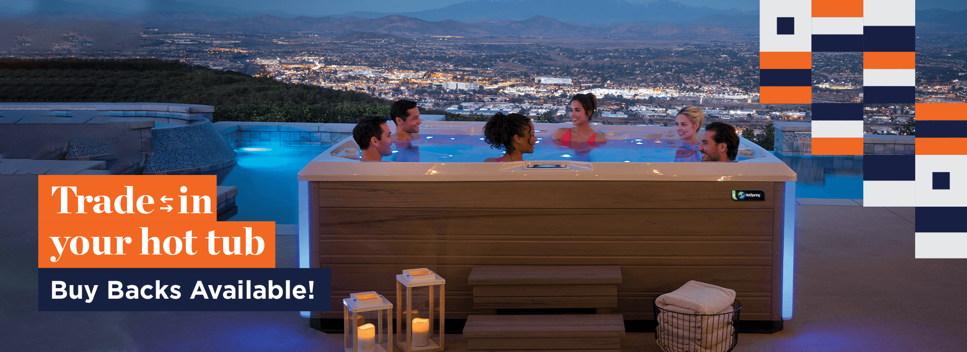 Fall Trade in your hot tub sale
