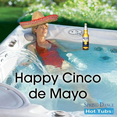 cinco de mayo hot tub