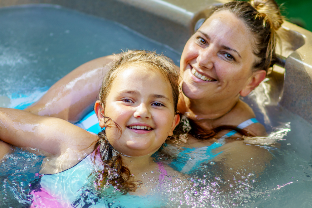 Importance of Hot Tub Family safety