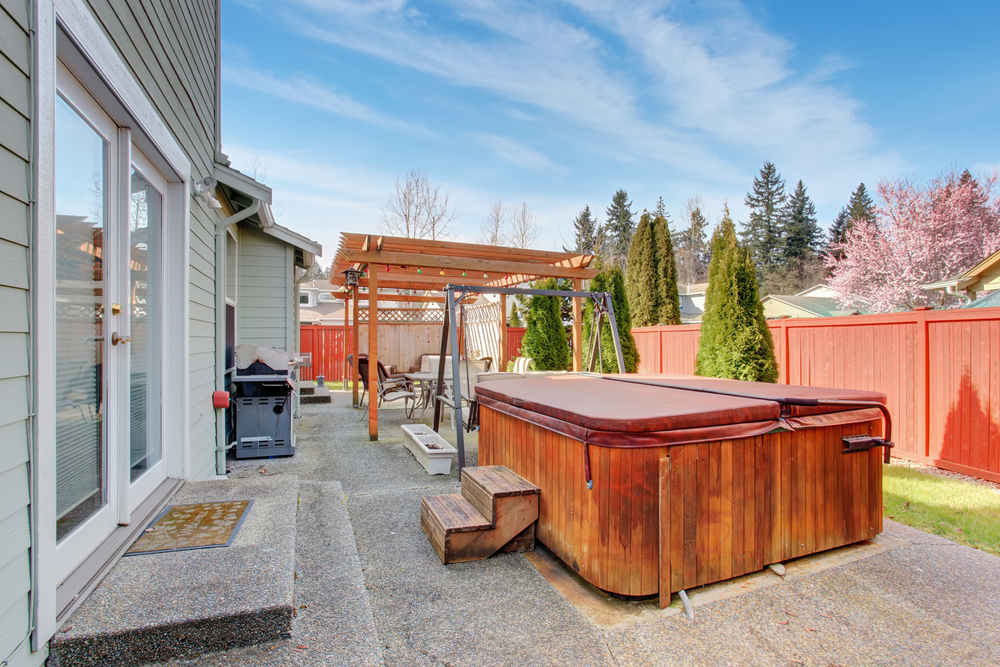 3 Ways to Make Your Backyard and Hot Tub Feel More Private
