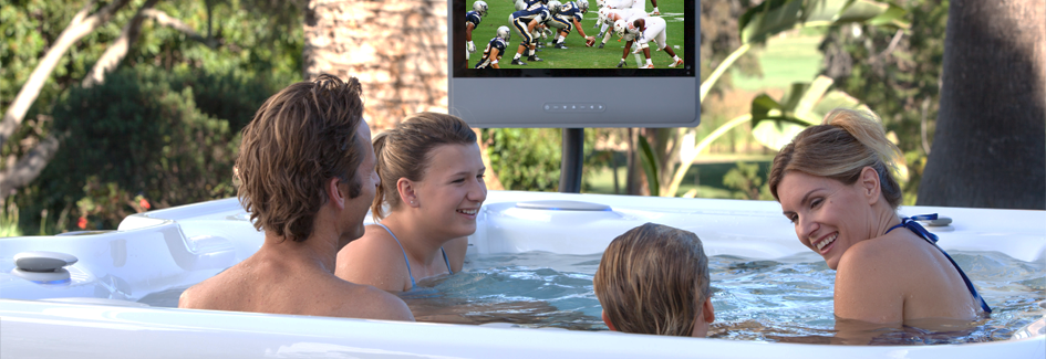 It's Football Season! 7 Ways a Hot Tub is Better than a Couch