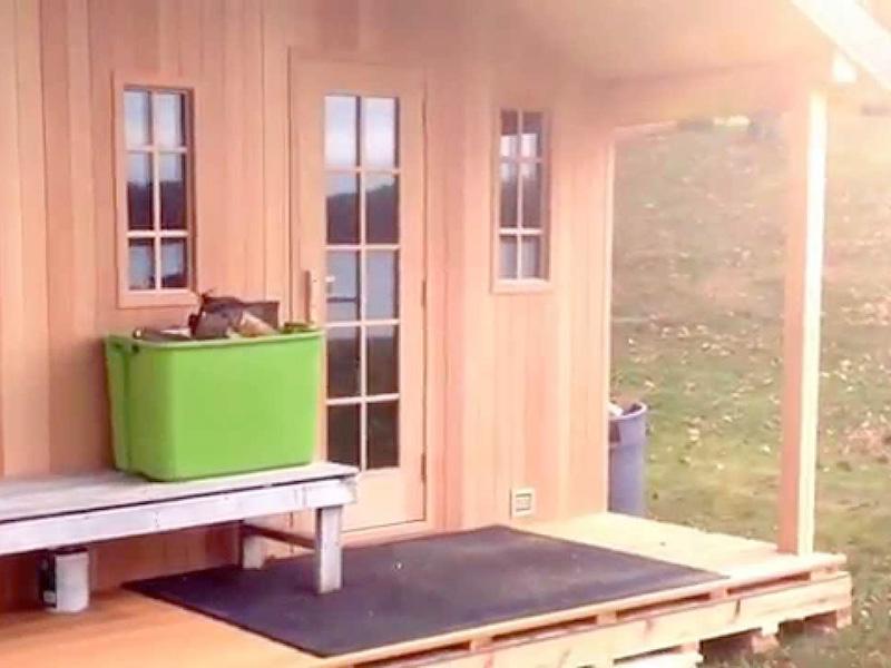 Sauna Design Ideas - Alaskaspa.com - The Waterworks