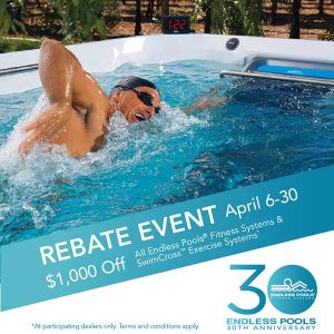 Endless Pool Rebate Offer | The Waterworks Spas and Saunas Alaskaspa.com