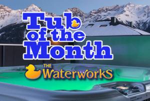 Tub of the Month Sale | The Waterworks Spas and Saunas Alaskaspa.com