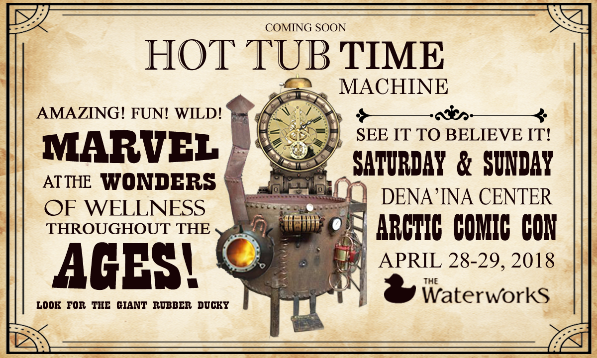 Arctic Comic Con April 28-29th