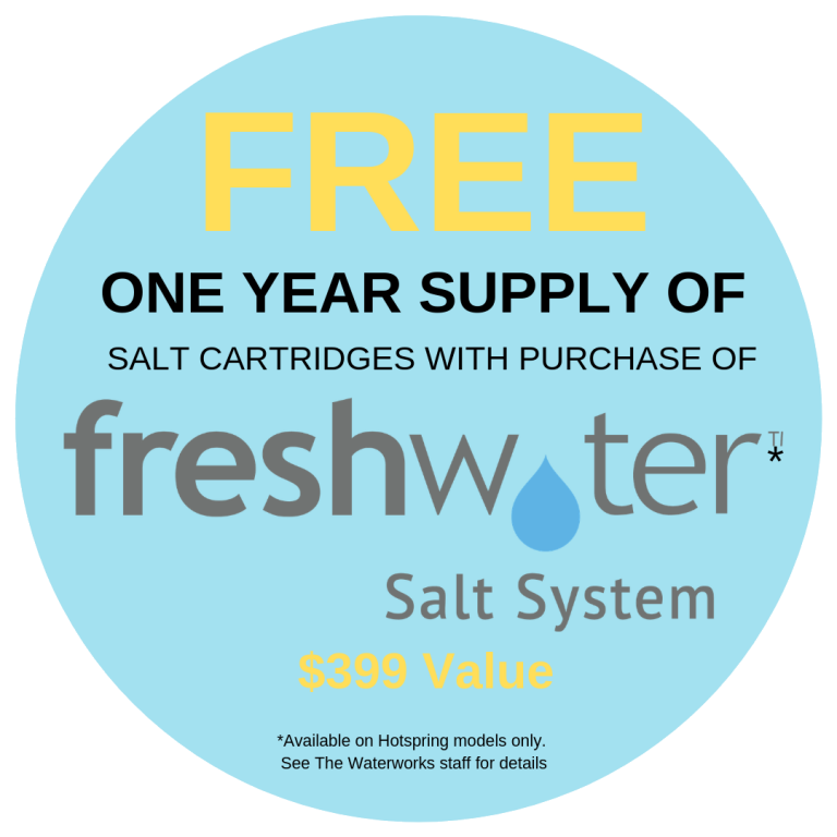 Free One Year Supply of Salt Cartridges