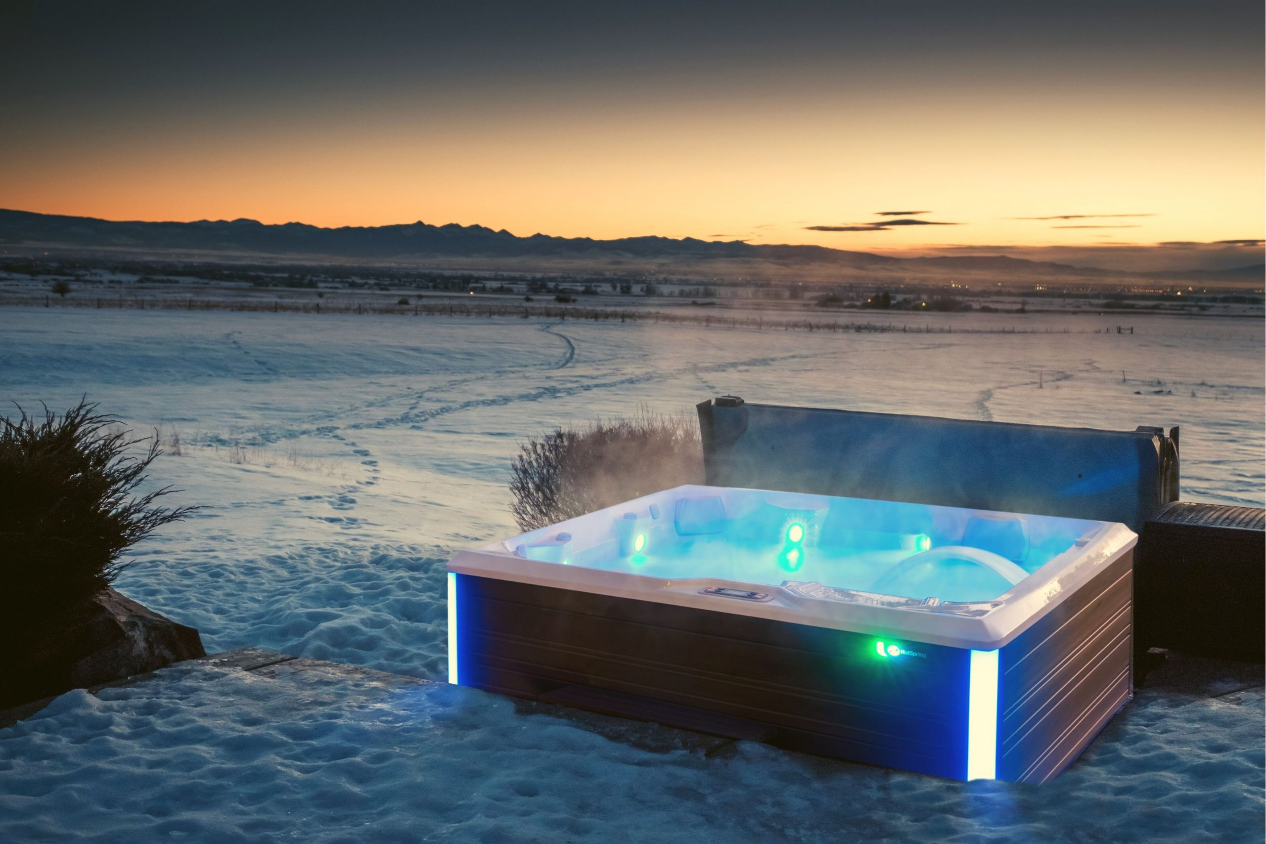 The Surprising Ways a Hot Tub Can Help Vanquish the Winter Blues