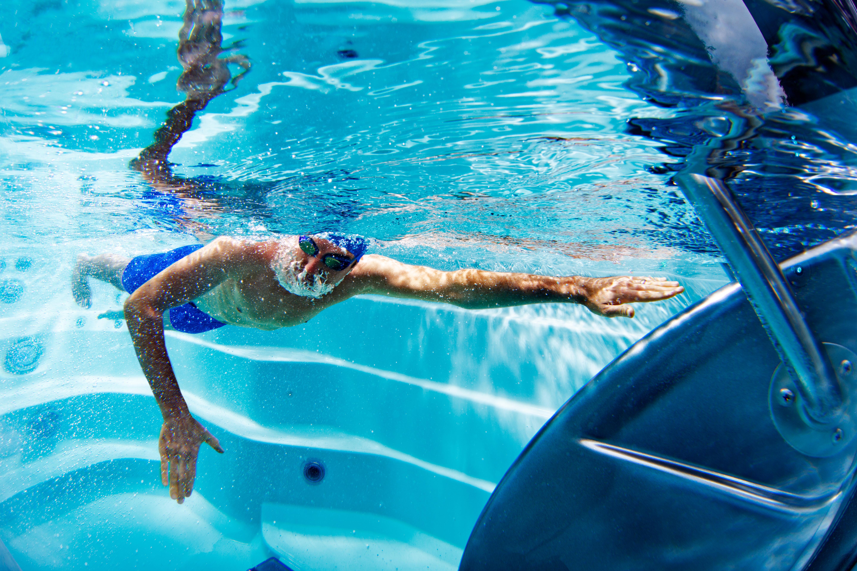 Swim Clinic at Allen Pools & Spas