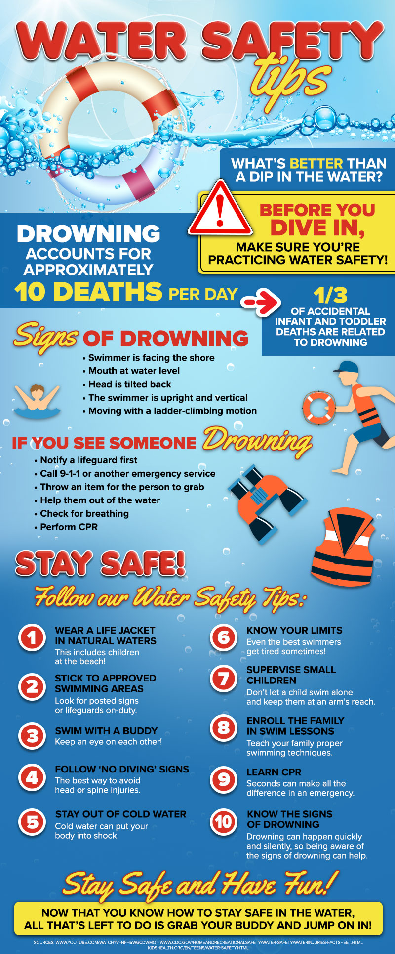 pool swimming safety tips