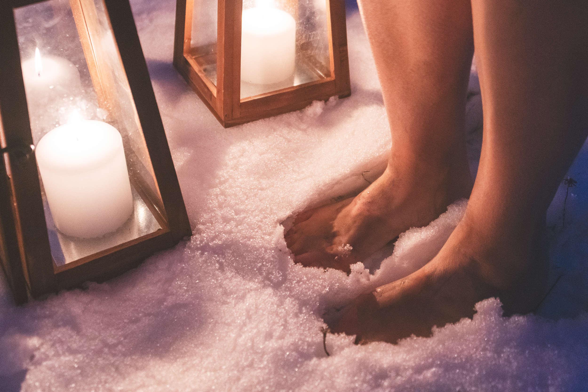 sauna snow benefits