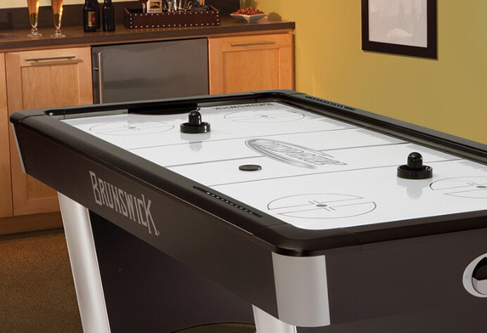 Icy Hockey Table in house in Metairie, LA