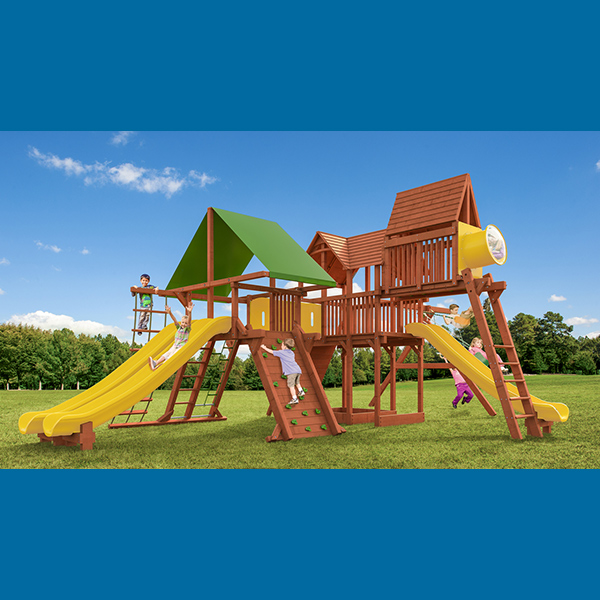 Woodplay Megaset Swing & Play Set