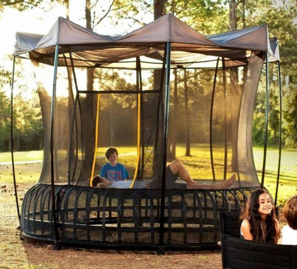 Trampolines Family Image