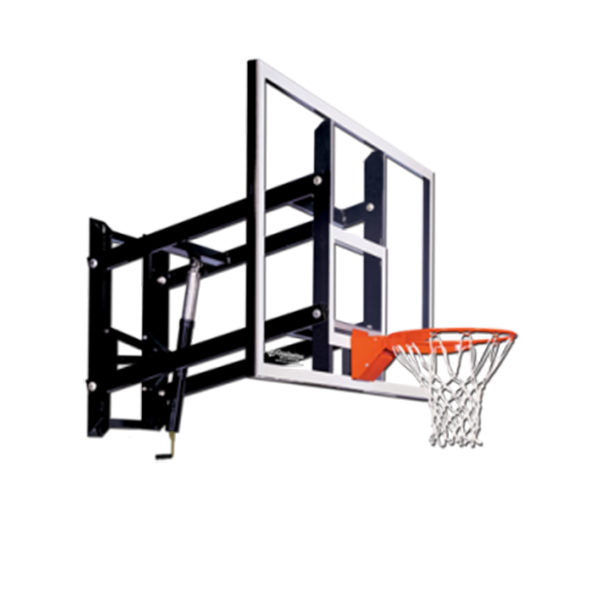 GS72 Wall Mount 72 Backboard Basketball Hoop