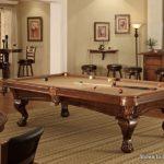 Megan Pool Table in room seting