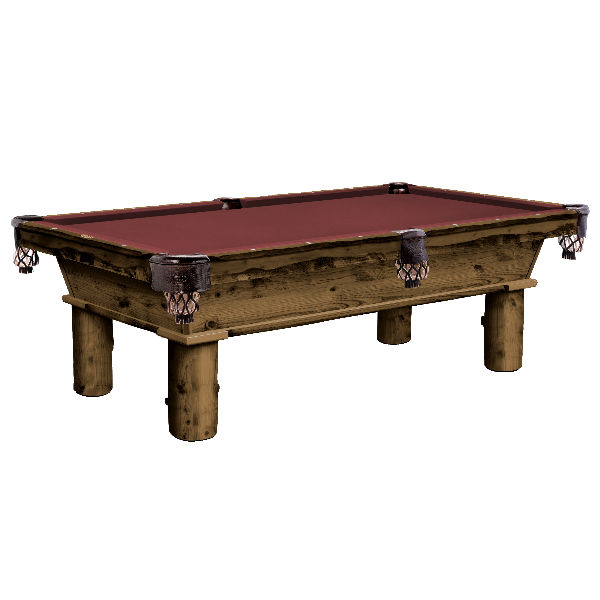 Cumberland Rustic Pool Table
