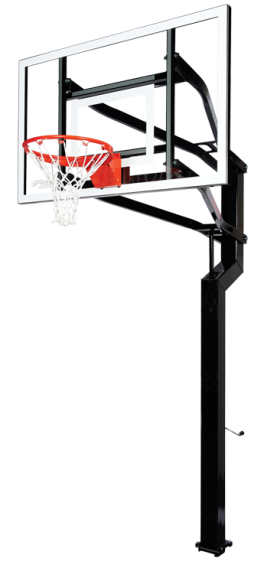"""Captain Signature Series basketball hoop with 60"""" Backboard"""