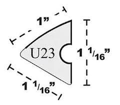 U23 Rubber Cushion / Fits 7' or 8' (set of 6)