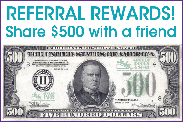 NEW!  Referral Rewards – Share $500 with a friend!
