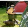 Portable Grill at Campsite