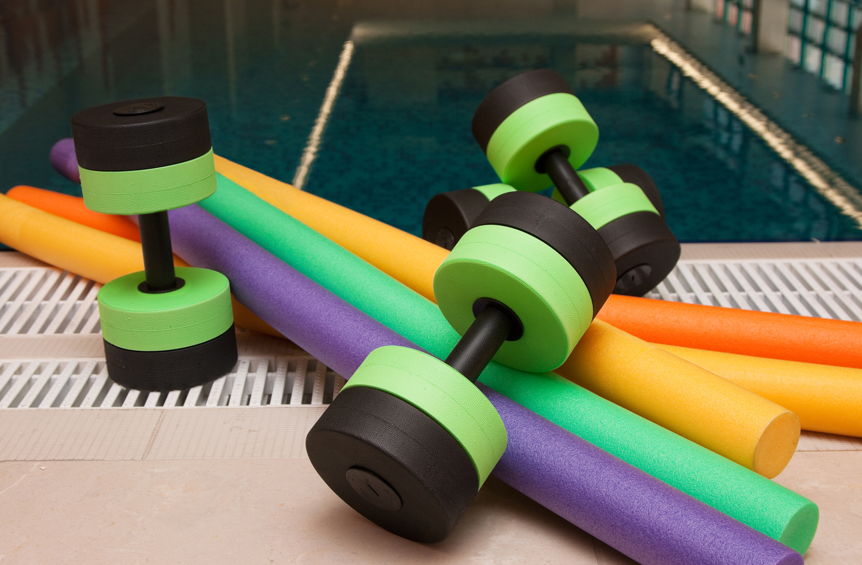 Creative Ways to Exercise in Your Pool