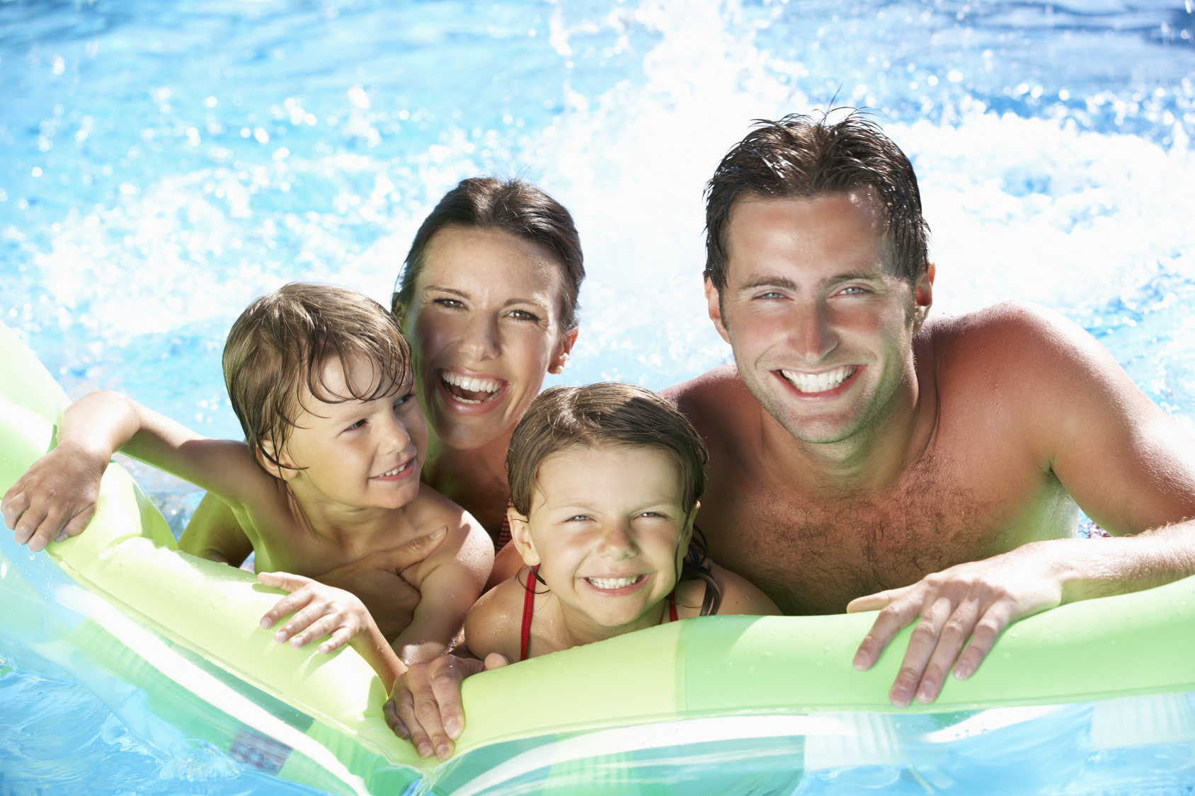 Pool Games to Play With Your Kids