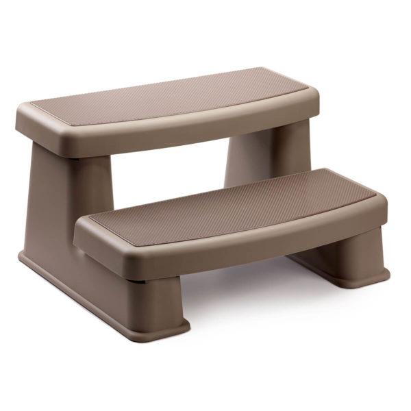 Hot Tub Steps Brown
