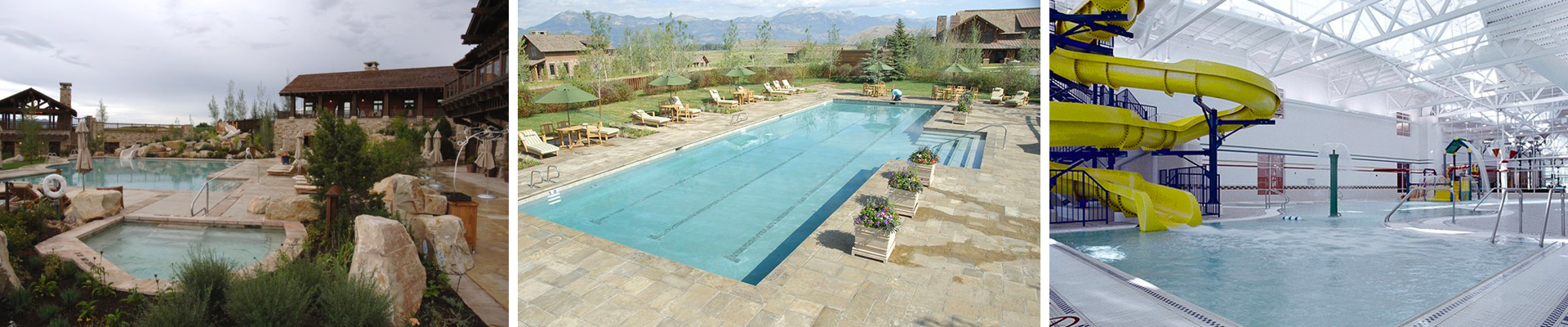 Commercial Inground Pools Aquatech Utah