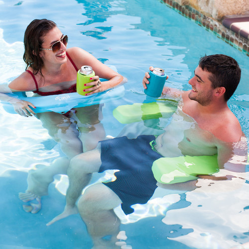 Adults in Aqua Swing Chair