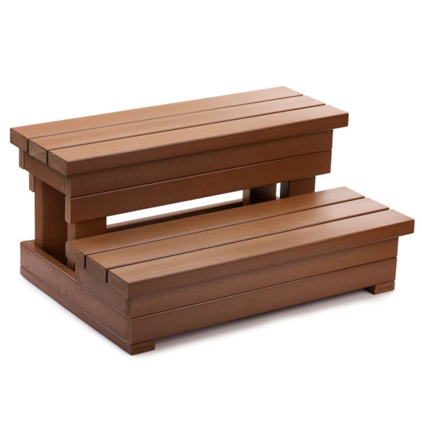 Hot Spring Everwood Step Teak