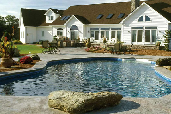 Latham Polymer Wall Pools Family Image