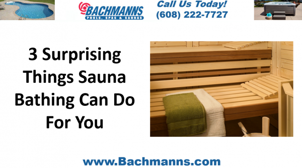 3 Surprising Things Sauna Bathing Can Do For You, Infrared Saunas Madison