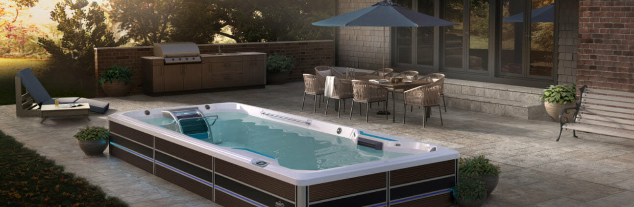 Improve Physical Well-Being with a Lap Pool, Swim Spas Sale Butler WI