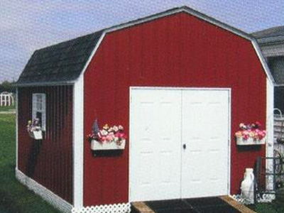 Metal Sided Portable Buildings Family Image