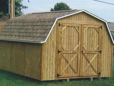 Wood Sided Portable Buildings Family Image