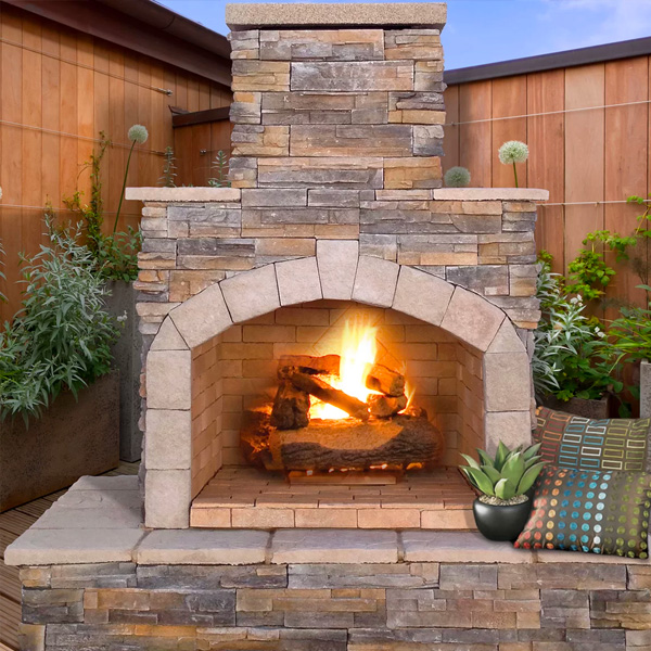 Cal Flame Fireplaces & Firepits Family Image