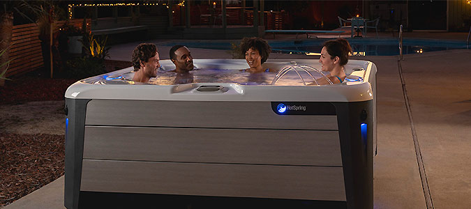 Hot Spring® Spas Family Image