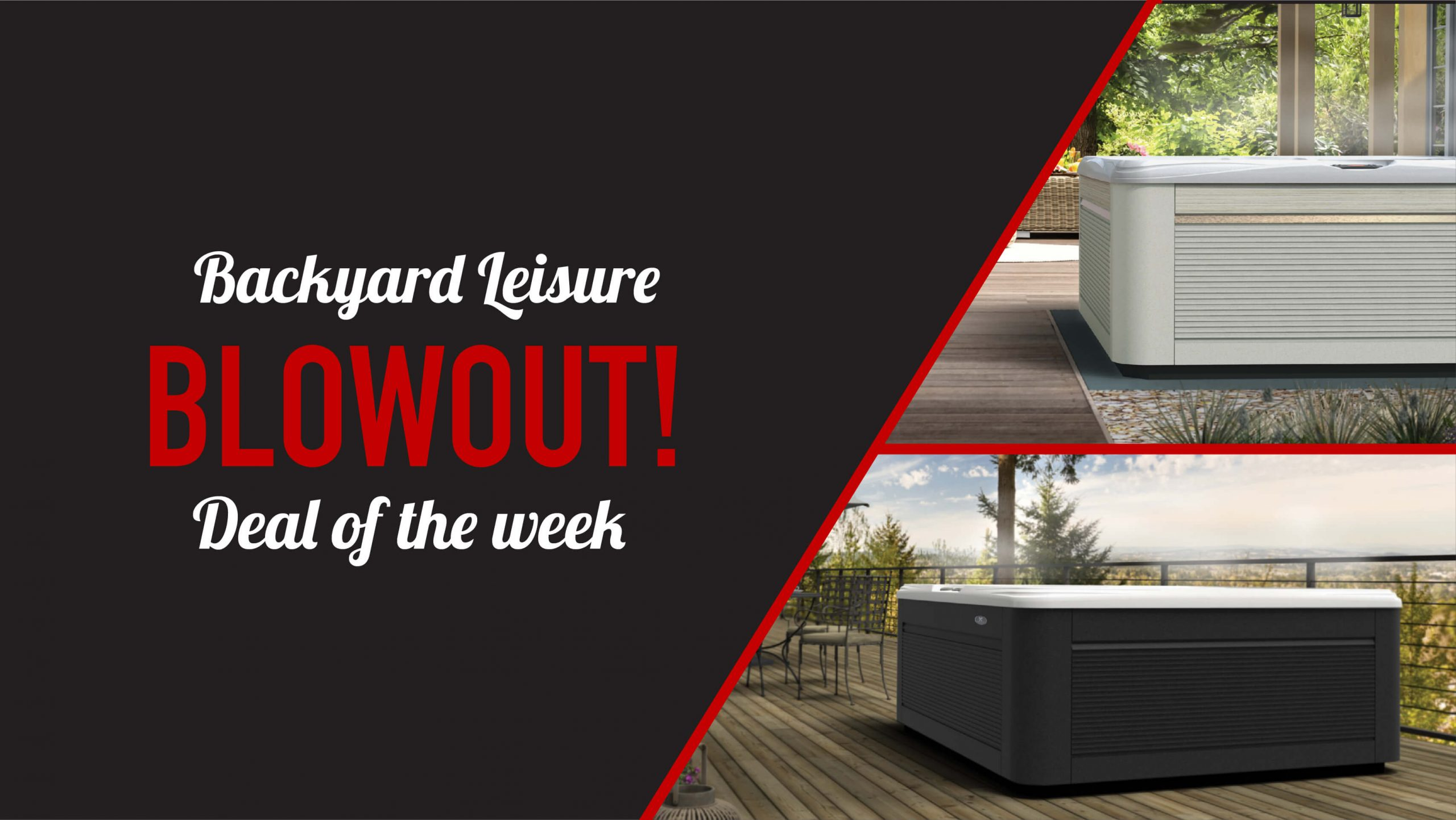 Hot Tub Blowout Deal Of The Week!!!